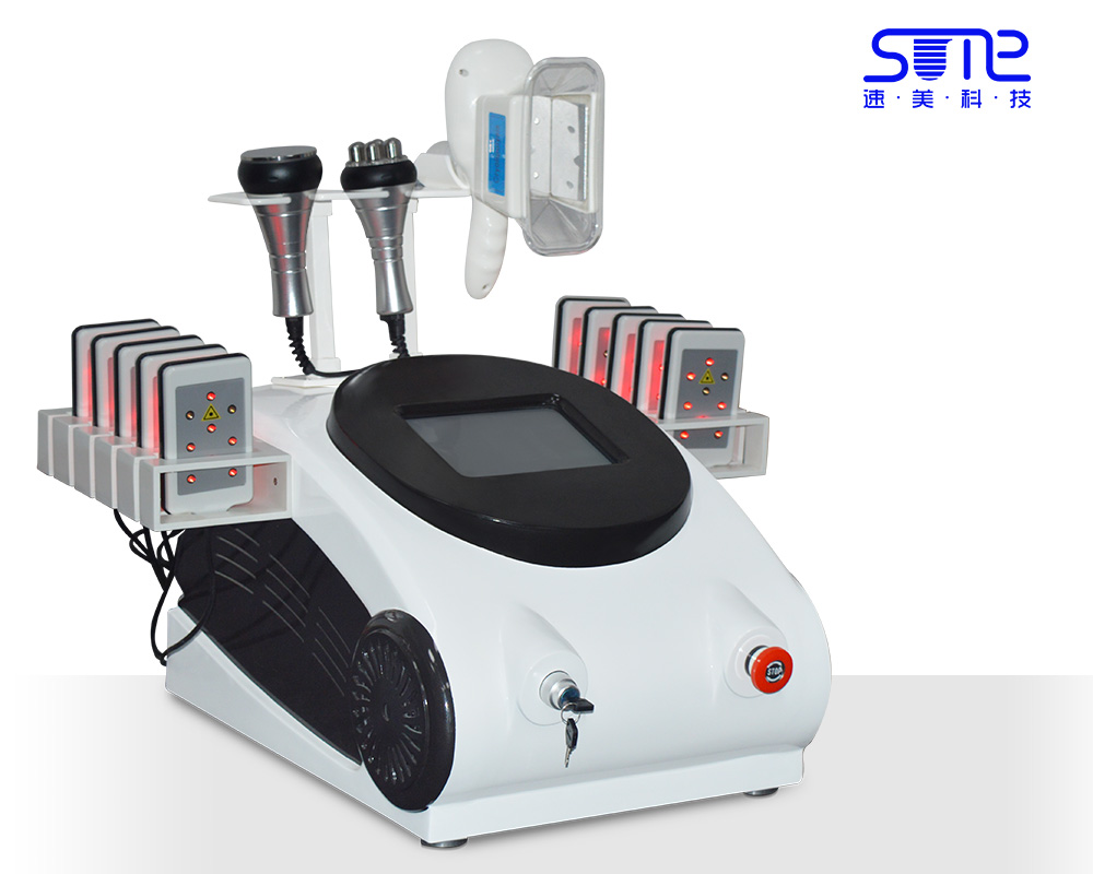 Cryoliplysis lipo laser cavitation rf weight loss machine