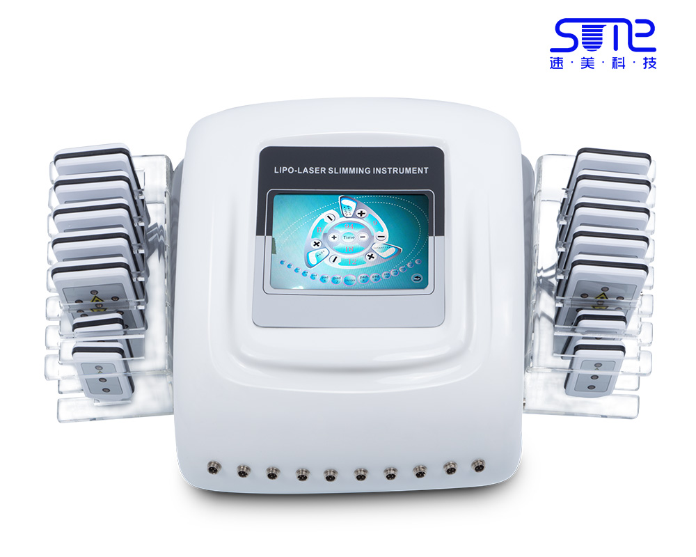 650nm LipoLaser 14 pads Slimming Body Shaping Fast Fat Burning equipment Lipo Laser Light