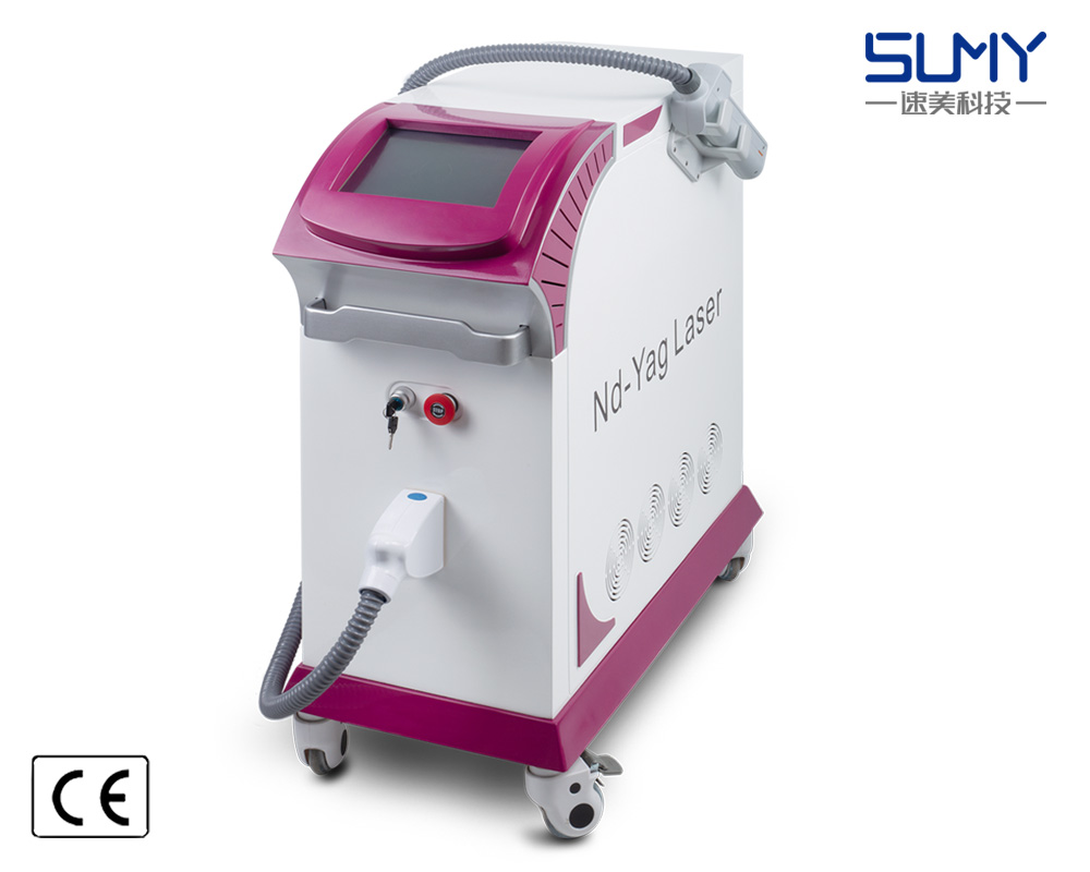 Hot sale 1320nm 1064nm 532nm beauty machine q-switched laser tattoo removal machine