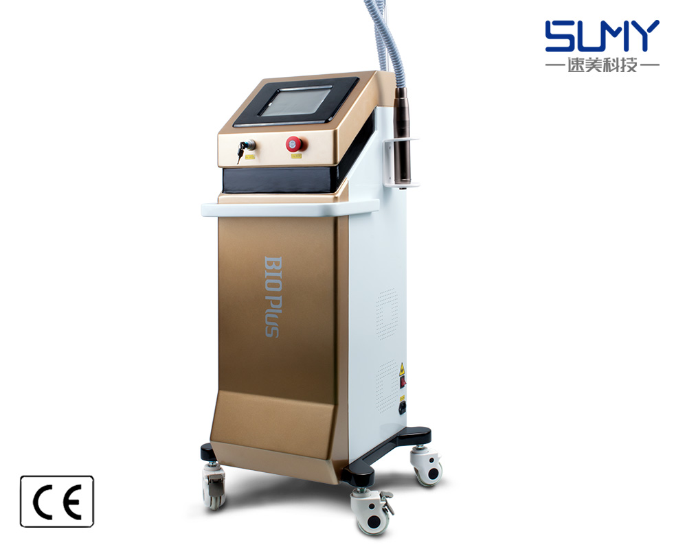 2018 Newest Factory Price Vertical Q Switched ND YAG Laser Tattoo Removal Skin Rejuvenation Machine