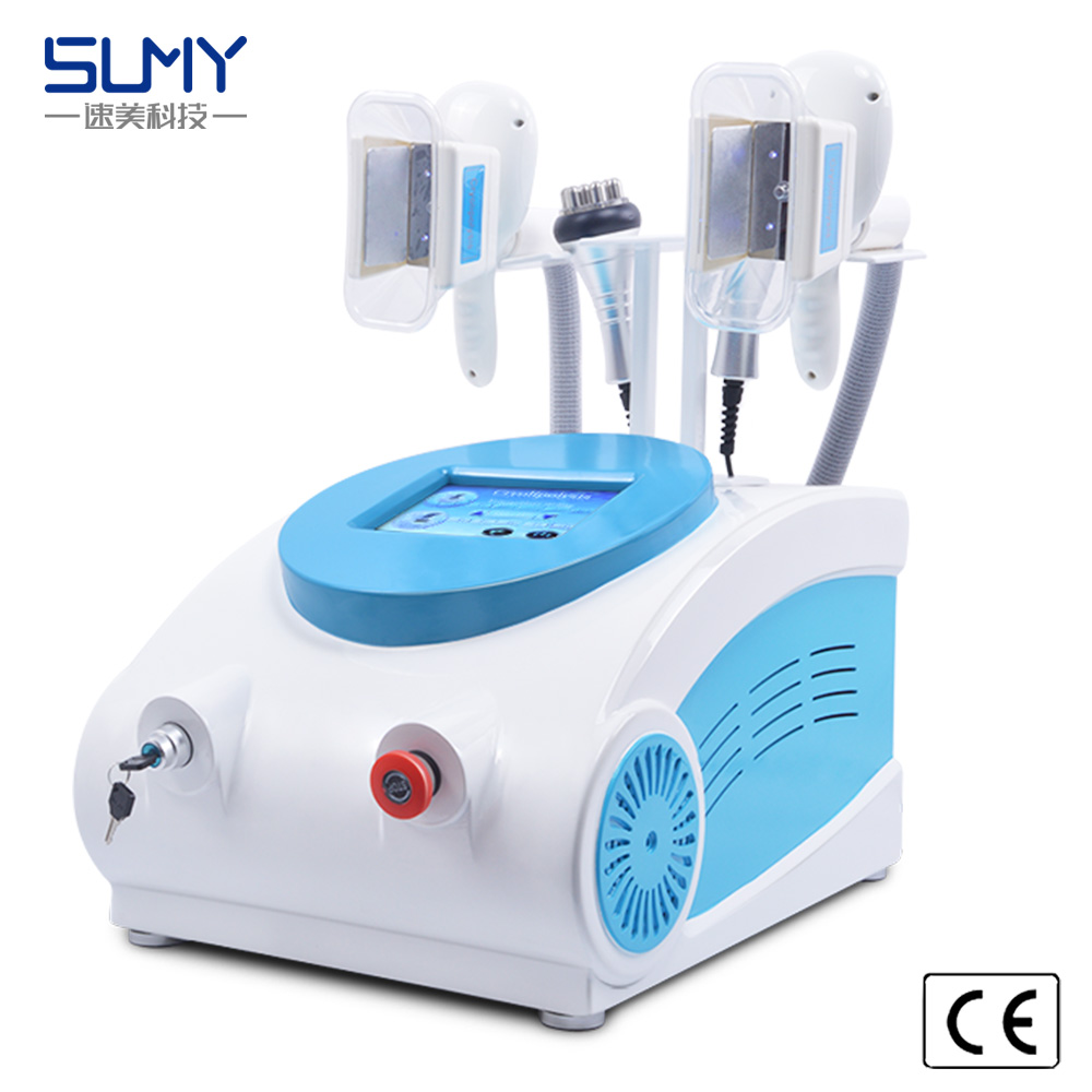 Portable 4 in 1 cryolipolysis fat freezing cavitation  rf weight loss machine