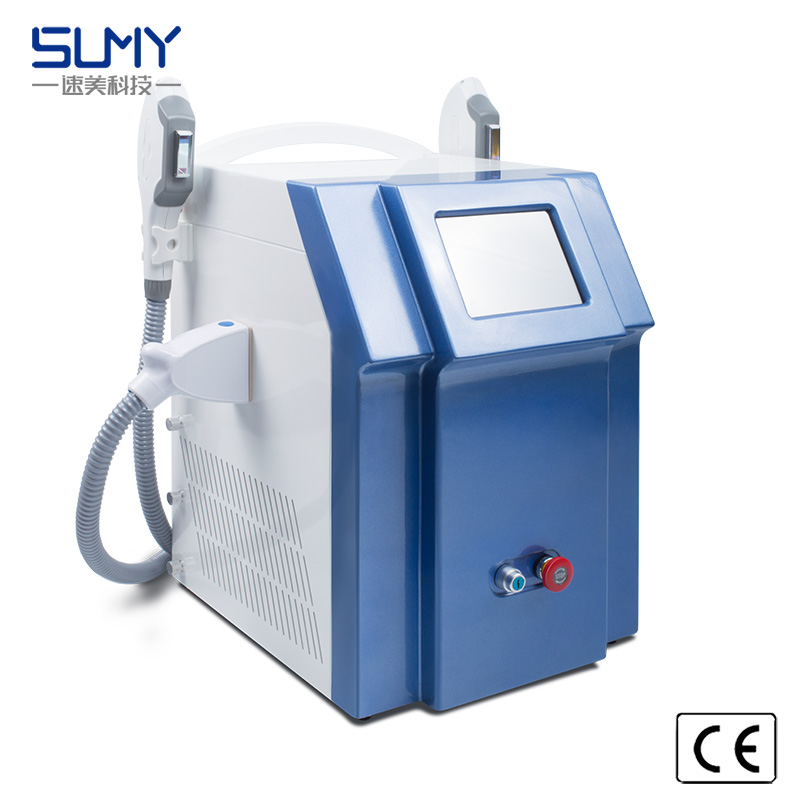 Portable Hair Removal & Wrinkle/Freckle Removal Opt IPL Shr Skin Rejuvenation Facial Care Equipment