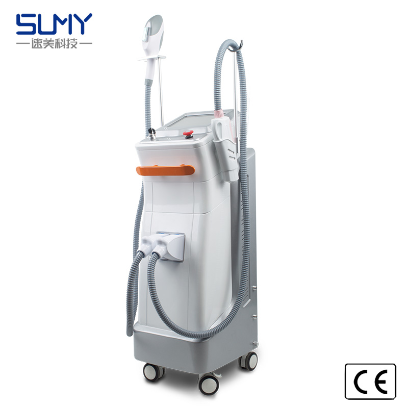 2 in 1 Newest Laser for Tattoo Pigmentation Removal IPL Opt for Hair Removal Skin Care Salon Equipment