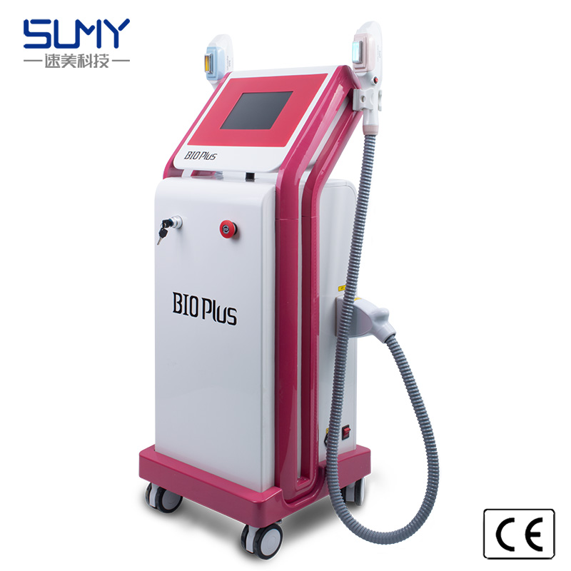 ipl hair removal double 360 magneto optical shr machine