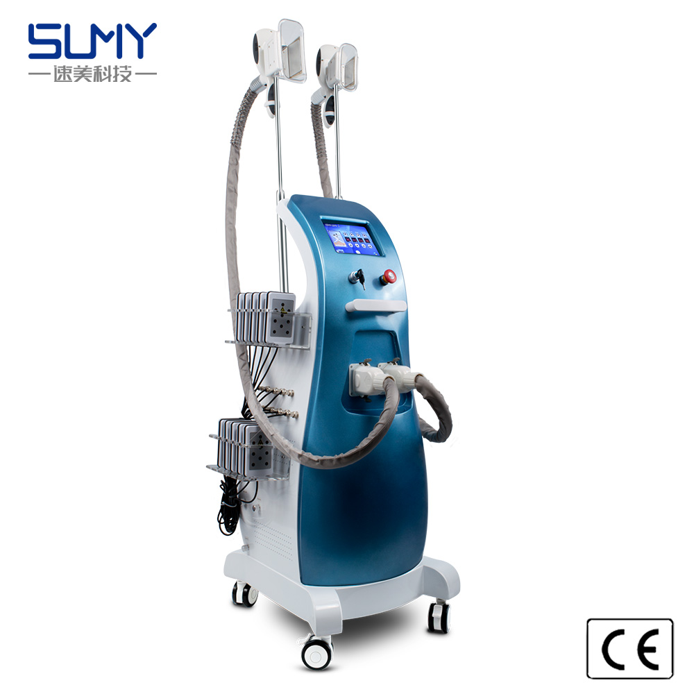 Newest cryo fat freezing ultrasound cavitation lipo laser rf slimming machine