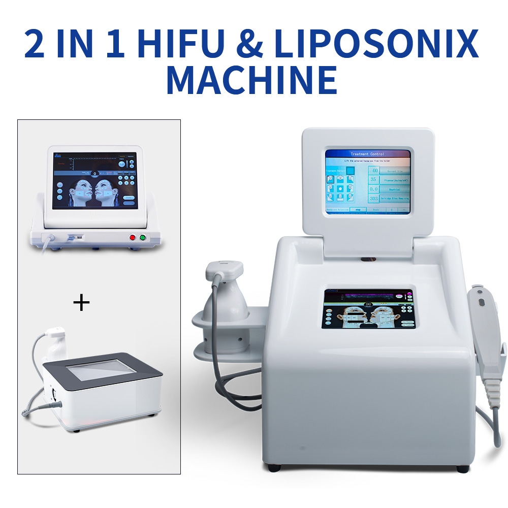 2 in1 Portable Loss Weight Hifu Laser Machine Skin Tightening Weight Loss Machine